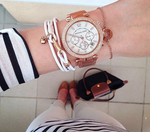 【限時8折 全店滿5000再9折】MichaelKors MK 玫瑰金鑲鑽 三環計時手錶腕錶 MK5491 美國Outlet 正品代購 6