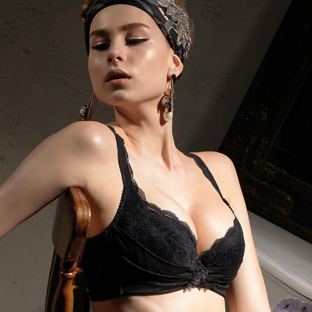 【Favori】魔力 美塑系列E罩杯內衣 (魅惑黑) 0