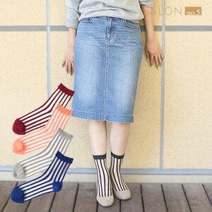 靴下屋Tabio 潮流條紋透明短襪