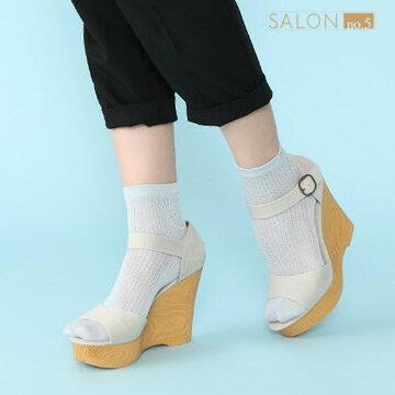 靴下屋Tabio 鏤空條紋網眼短襪