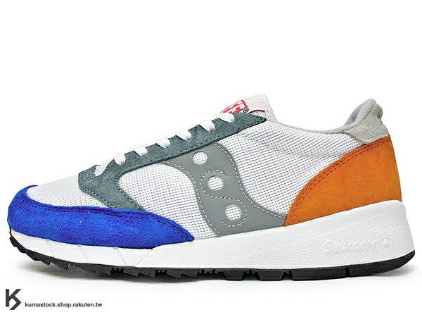 2016 紐約街頭品牌 ALIFE x 美國百年專業跑鞋 SAUCONY JAZZ '91 1991 聯名款 白藍橘 美式休閒風格 麂皮 網布 索康尼 復古慢跑鞋 (S70252-2) !