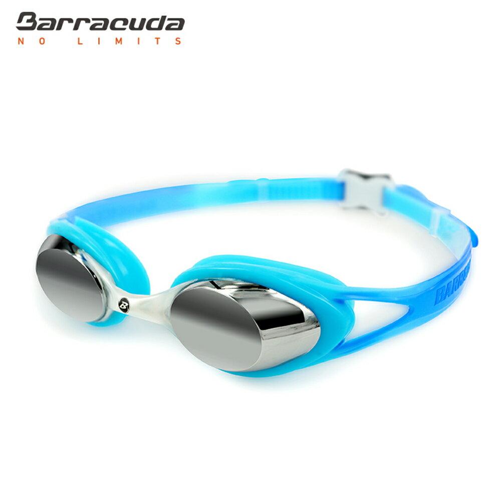 美國巴洛酷達Barracuda兒童抗UV電鍍泳鏡-CARNAVAL#34710 6