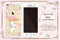 美樂蒂My Melody周邊商品推薦到GARMMA Melody 美樂蒂 iPhone 6/6S(4.7吋、5.5吋)TPU軟殼+鋼化膜 豪華套裝組 田園款