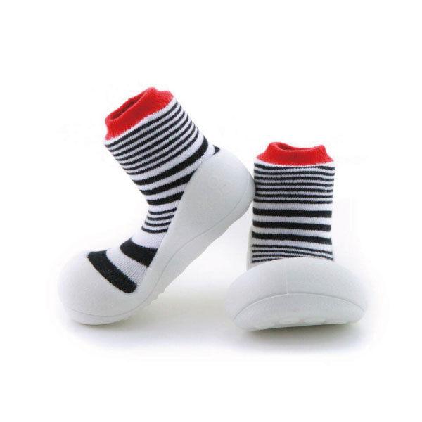 【本月特價$599】韓國【Attipas】快樂腳襪型學步鞋-濃情火焰系列 - 限時優惠好康折扣