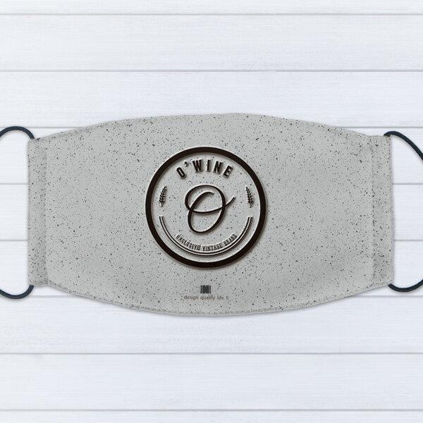 [ IHERMI ] 個性口罩 / 個性字母O / 愛好蜜 MIT台灣製造好安心 環保染劑使用 極細緻印染技術 0