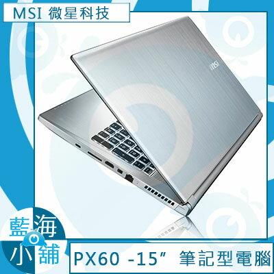 MSI 微星PX60 6QD-009TW 全新系列★PX60★i7-6700HQ 四核心處理器xWindows 10 筆記型電腦 -售完為止