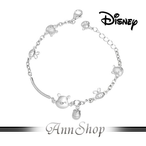 AnnShop~迪士尼Disney‧維尼與我手鍊~~ ~銀飾飾品 情人 S1WB910 ~
