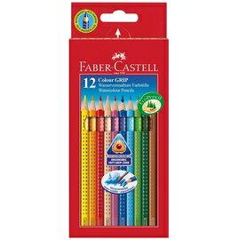 ~輝柏 Faber~Castell~GRIP握得住12色水彩色鉛筆^(環保裝^) ^#11