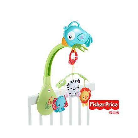 【悅兒樂婦幼用品舘】Fisher-Price 費雪 熱帶雨林好朋友三合一音樂吊鈴