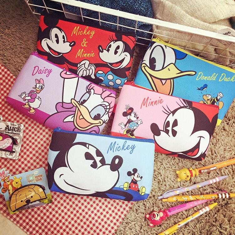 PGS7 迪士尼系列 ~ 迪士尼 壓扣 筆袋 鉛筆盒 收納包 手機套 手機包 手機袋 米奇