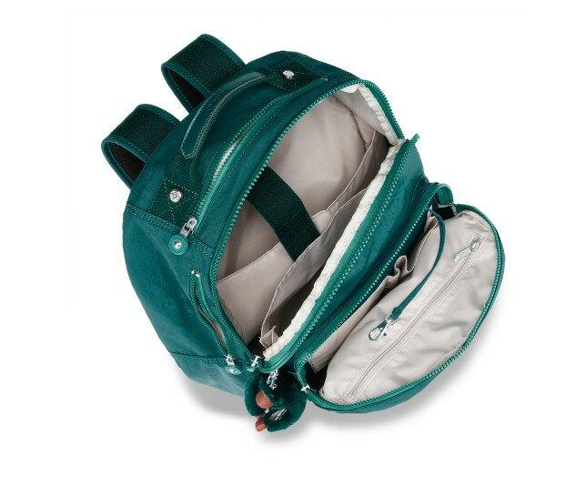 OUTLET代購【KIPLING】時尚經典Seoul旅行袋 斜揹包 肩揹包 後揹包 森林綠 2