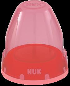 『121婦嬰用品館』NUK 寬口奶瓶旋轉蓋組 0