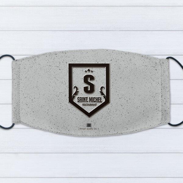 [ IHERMI ] 個性口罩 / 個性字母S / 愛好蜜 MIT台灣製造好安心 環保染劑使用 極細緻印染技術 0