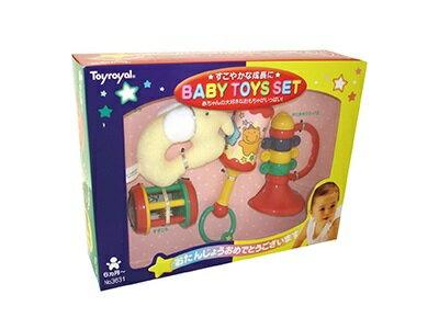 日本【ToyRoyal 樂雅】新玩具搖鈴禮盒(小) - 限時優惠好康折扣