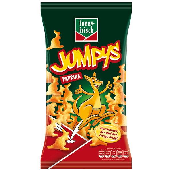 奧地利進口 Jumpy's 3D袋鼠洋芋片-BBQ口味75g