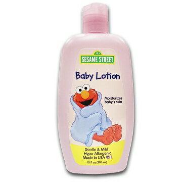 美國進口 Sesame Street 芝麻街嬰兒潤膚乳液296ml