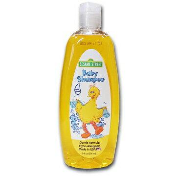 美國進口 Sesame Street 芝麻街嬰兒洗髮乳296ml