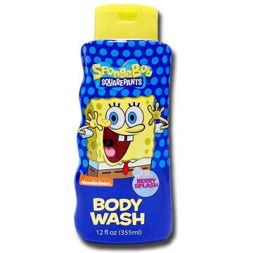 美國進口 Sponge Bob 海綿寶寶沐浴乳-野漿莓果355ml