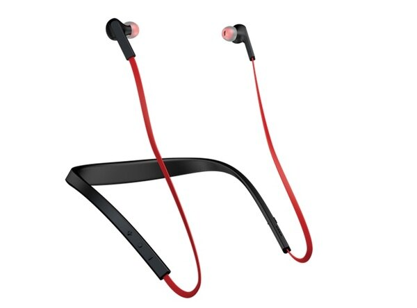 《育誠科技》『 Jabra Halo smart 紅色』藍芽耳機/耳道頸掛式藍牙/立體聲音效/磁吸功能/來電震動/另售鐵三角ATH-BT08NC