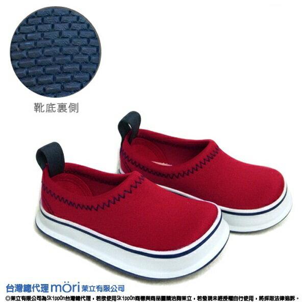 日本熱賣SkippOn幼兒戶外機能鞋-經典紅