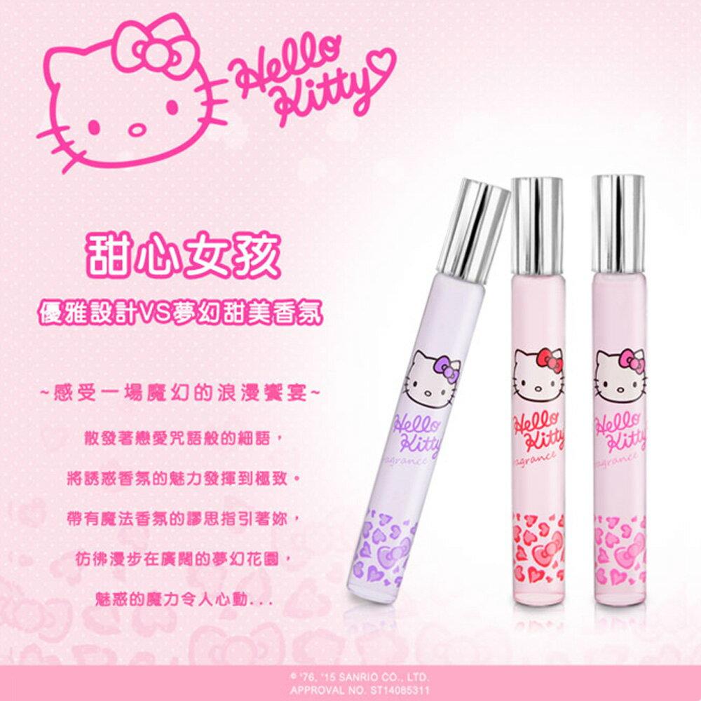☆Hello Kitty☆ 凱蒂貓 魔幻甜心香水筆 –3入禮盒( 甜蜜戀情、粉紅誘惑、祕密花園) 三麗鷗授權商品 1