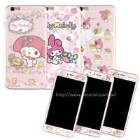 美樂蒂My Melody周邊商品推薦到【Sanrio 】iPhone 6/6s 雙面強化玻璃彩繪保護貼-美樂蒂