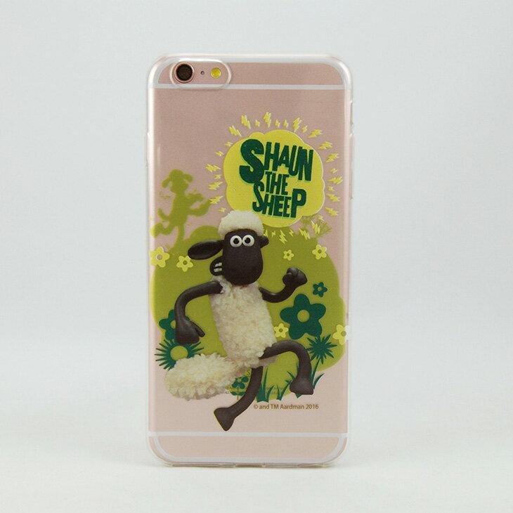 笑笑羊 ^(Shaun The Sheep^)~TPU手機殼:~ 羊羊得意 ~~ iPho