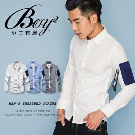 ☆BOY-2☆【NQ97002】空軍拉鍊韓版長袖襯衫 0