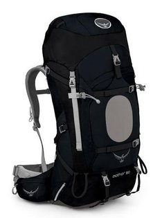【鄉野情戶外專業】 Osprey |美國|  Aether 60 登山背包 男款-藏藍M _Aether60