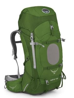 【鄉野情戶外專業】 Osprey |美國|  Aether 60 登山背包 男款 盆裁綠-M號_Aether60