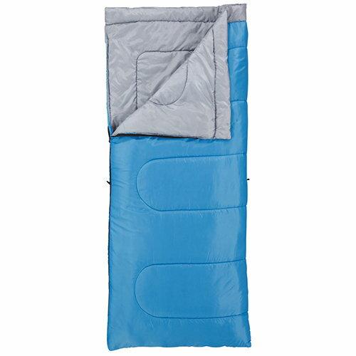 【鄉野情戶外專業】 Coleman |美國|  信封型睡袋.輕量化纖睡袋 表演者睡袋/15-藍._CM-6933JM000