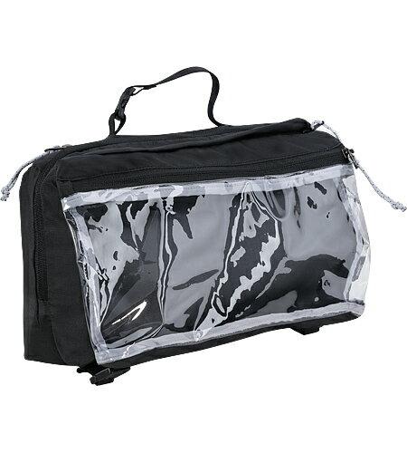 【鄉野情戶外專業】 ARC'TERYX 始祖鳥|加拿大| Indexee盥洗包雙層盥洗包 旅行盥洗袋 旅遊沐浴用品收納包(大)-碳黑_16163