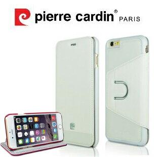 ^~ iPhone6 6S ^~ Pierre Cardin法國皮爾卡登4.7吋十字紋真皮