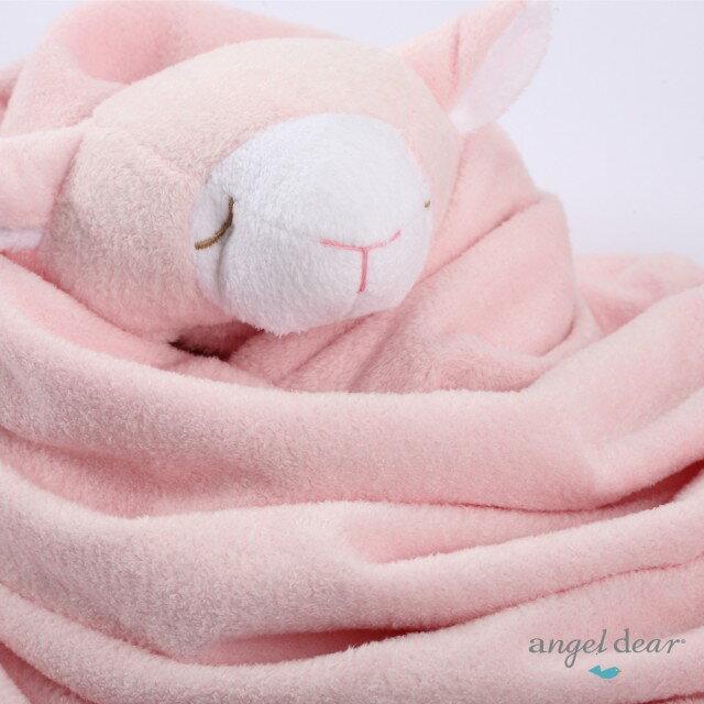 『121婦嬰用品館』美國Angel Dear 大頭動物嬰兒毛毯 粉羊AD2002(此商品售出不做退換) 1