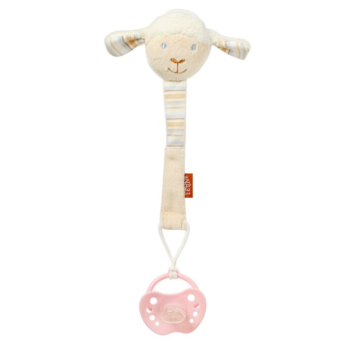 babyFEHN 芬恩 - 保羅小綿羊布偶奶嘴鍊 0