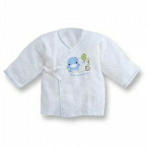 『121婦嬰用品館』KUKU 小森林紗布反手袖肚衣 1
