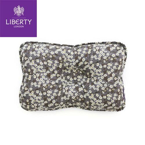 【安琪兒】韓國【 Borny 】英倫頂級款較大有機枕(灰小花) - 限時優惠好康折扣