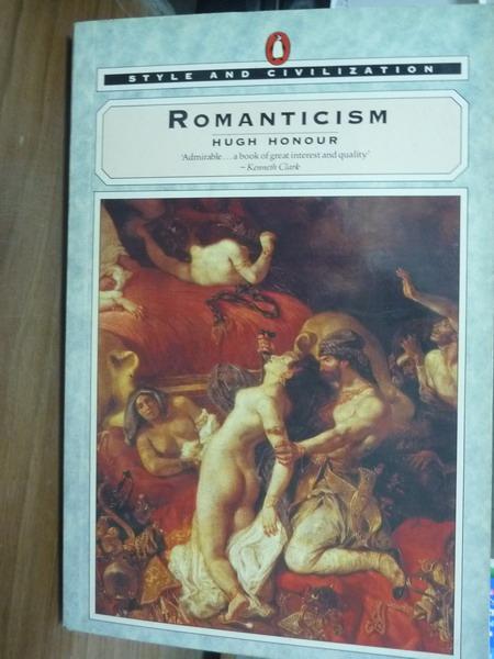 ~書寶 書T5/原文書_PLD~Romanticism_Hugh Honour ~  好康