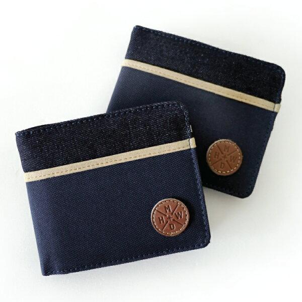 REMATCH - Matchwood Positive 皮夾 錢包 短夾 錢夾 牛仔 丹寧海軍藍帆布款 Herschel / PORTER / HEADPORTER 可參考