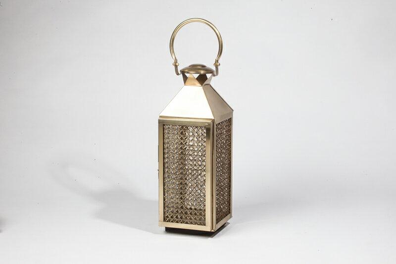 Upptäck Deco 萊佛士黃銅提燈 - 全兩個尺寸【7OCEANS七海休閒傢俱】 1