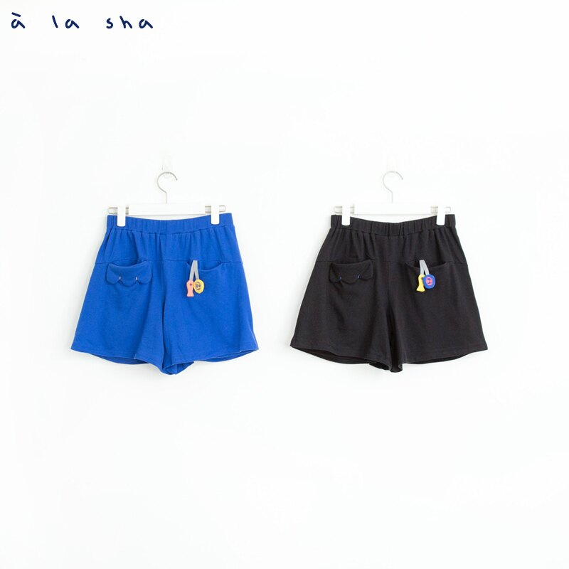 a la sha 貓咪耳朵口袋造型褲裙 2