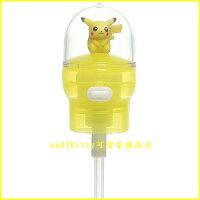 Pokemon:精靈寶可夢到asdfkitty可愛家☆寶可夢 神奇寶貝皮卡丘寶特瓶吸管頭-直接裝在保特瓶飲料上-不怕灑-日本正版商品