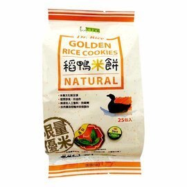 稻鴨米餅-羅勒口味 25小包