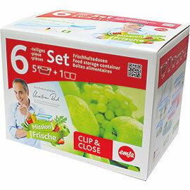 德國EMSA保鮮盒 六件組 514589