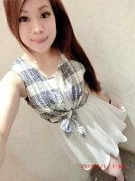 時尚洋裝 小禮服推薦到Doublet 日本vivi  韓國空運直送 東大門 韓國代購  春夏流行新款無袖假兩件式洋裝