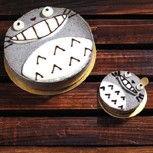 龍貓風! 芝麻乳酪蛋糕-6吋♥ 每一口的乳酪蛋糕都充滿濃濃的芝麻香→10/5輸入MARATHON1005立刻折88元! 3