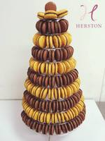 分享幸福的婚禮小物推薦喜糖_餅乾_伴手禮_糕點推薦H E  R  S  T  O  N   1 0 層馬 卡 龍 塔
