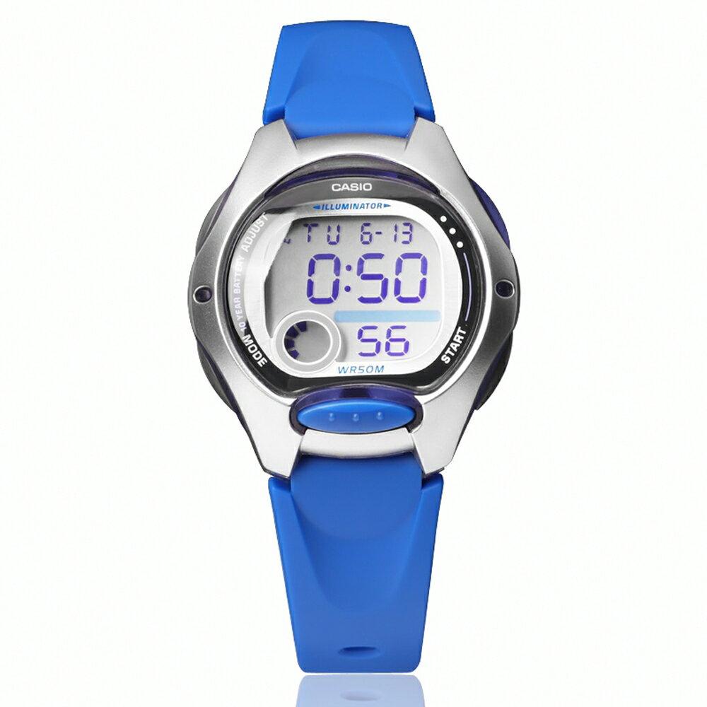CASIO 卡西歐 LW-200 小巧時尚亮色系輕鬆配戴防水電子錶 2