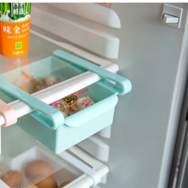 PS Mall 冰箱抽屜隔板 節省空間收納籃【J1517】