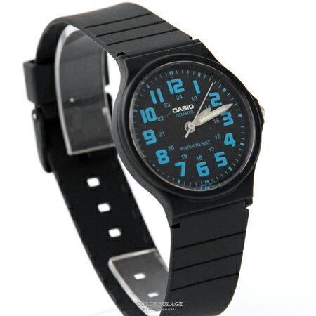 CASIO卡西歐 簡約清晰數字夜光指針石英手錶 輕巧中性款腕錶 柒彩年代【NE1859】原廠公司貨 0